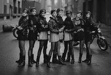 Archives et Légendes / #leather #vintage #style #archive #photography
