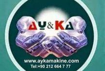 Ziyaret Edilecek Yerler / YERLİ AYKA Lazer Kesim Makinaları Uretimi Satışı Fabrika 0212 664 77 77 PBX www.aykamakine.com