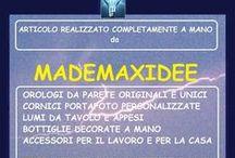 oggettistica da arredamento by Mademaxidee / articoli per arredamento di case, uffici, negozi