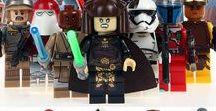 Minifigures Custom Batman Star Wars Bricks Lego
