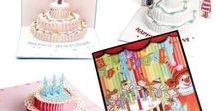 3D Pop Up Greeting Card Handmade DIY Design Birthday Christmas Printable Vintage Envelope