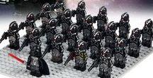 Star wars minifigures toys custom army blocks lego rebels