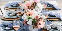 Beautiful table designs / Gorgeous table designs for any ocassion