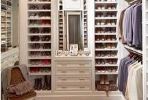 custom closets / My closet is one of my favorite rooms in our house.  See gorgeous dream closets here.