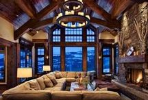Rustic Log Cabin / Everything you would want for your log cabin.