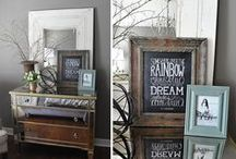 Bedroom decorating Ideas / Bedrooms are one of my favorite decorating projects.  These all create a romantic feel