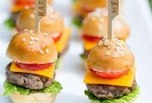 party appetizers / Appetizers that are great for most events.