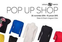 LEILA HAFZI Pop Up Shop W14/15 / On November 20th, LEILA Hafzi Pop up shop opens at Steen & Strøm Magasin in Oslo. The store will stay open until 10 January 2015.   Model photo : Dag Knudsen Hair: Barbro Sørlien / Billy's Bumble and bumble Makeup : Sølvi Strifeldt / www.strifeldt.net Model : Veronica / Heartbreak Garment photo: Maja Ljungberg Bjåland