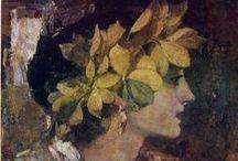 Fedir Kryczewskyj / Ukraiński malarz, uczeń m. in. Gustawa Klimta.