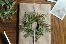 Fancy gift wrapping / Beautiful gift wrapping.
