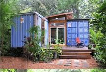 Shipping Containers / converted shipping containers
