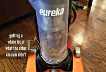 Eureka Brushroll Clean Reviews / Eureka partnered with RedefinedMom.com and ConsumerQueen.com to test and review the new Eureka Brushroll Clean, which features a self-cleaning brushroll!  The Eureka Brushroll Clean is available at www.walmart.com/eureka. / by Eureka Vacuum