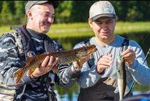 Fishing ~ Рыбалка / Рыбалка в Скандинавии. Всё самое интересное о рыбалке в Норвегии, Финляндии и Швеции. Fishing in Scandinavia. All the fun of fishing in Norway, Finland and Sweden