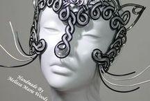 Handmade Wire Masks! / Handmade Wire Masks!