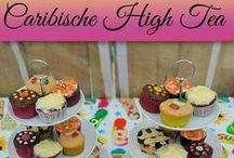 Tropical High Tea Party / My Birthday Party