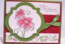 Christmas Blessings-Retired / Made with Stampin' Up! Christmas Blessings stamp set.
