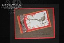 Autumn Days-Retired / This is a great masculine stamp set!! This board is made up of cards and ideas using Stampin' Up! Autumn Days (retired) stamp set.  There is so much you can do with this!