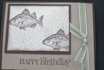 By the Tide / Cards and ideas using Stampin' Up! By the Tide stamp set.