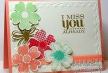 Flower Shop / Made using Stampin' Up! Flower Shop stamp set.  It is a new set in the 2013-2014 catalog. It is such a popular set! To find more ideas follow my pins, boards and blog @ lisastamps.com --Lisa Bowell, Stampin' Up! Demonstrator
