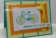 Cycle Celebration / This board is full of various card ideas using Stampin' Up! Cycle Celebration stamp set. This is a new set in the 2013-2014 catalog. It is such a great set! Follow, pin, and visit my various boards and blog for more ideas. @lisastamps.com