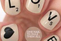 Pretty hair,make-up & nails <3