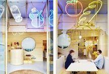 Arquitectura / eat out / Diseño de interiores, restaurantes, bares, retail