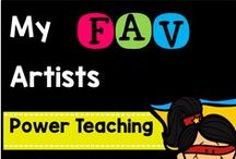 My Favorite Artists / There are so many artists out there I really love! Here's some of them