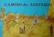 Camino de Santiago / Walkingtrip though Spain; distance: about 1000km; from col du somport (Pyrenees) to Santiago de Compostella; this Pin contains pictures of cities and sites from along the way.