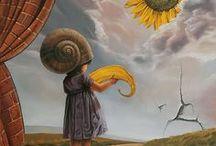 Surrealist Art by Cătălin Precup / (Works found on Pinterest.) / by Cătălin Precup