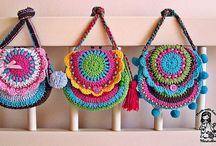 Crochet: coin purses, cover, case, clutch,
