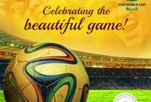 2014 Fifa World Cup Brazil / Rejoicing in 'The Beautiful Game'! The 2014 Fifa World Cup Brazil kicks off on the 12th of June 2014. This board caters to the feeling and spirit of the event.