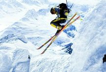 Snow Skiing / Stay at Elm Cottages and with the Snowy Mountains at your doorstep, skiing is the perfect way to pass time! www.elmcottages.com.au