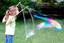 Family Outdoor Games & Activities / A collection of outside games and activities for the whole family to enjoy.