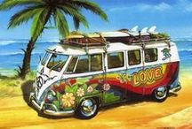 Everyone loves a VW Campervan / So who doesn't dream of travelling the world in a VW Campervan?