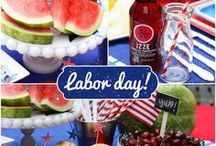 Labor Day / Celebrating a fun take on the American Labor Movement and contribution to the work force through exciting visuals, arts, crafts and food.