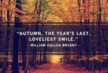 50 Shades of Autumn / A celebration of the amazing and stunning colours of Autumn