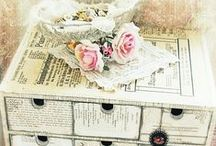 Shabby Chic / Gorgeous shabby chic creations and ideas