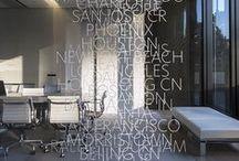 Arquitectura / y deco parlante / Arquitectura, decoración, palabras, comunicación