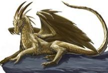 Dragon's / Simple because Dragon's are cool