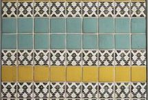Arquitectura / Tiles / Azulejos, diseño de interiores, pavimentos