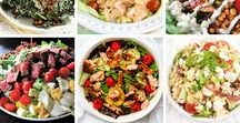 RECIPES ♥ / All kinds of delicious recipes that will make you hungry immediately! You'll find easyhealthy recipes, quick dinners, delicious desserts, healthy treats, lunches on the go, budget friendly recipes, meal prep, yummy salads, college student friendly recipes + more!