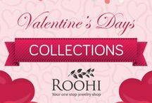 Valentine's Day Jewelry Gifts / Here's popular #ValentinesDay #Jewelry from #RoohiLove - they're the absolute best sellers! Grab them today only from Roohi.com