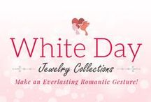 WhiteDay Jewelry Gifts / White Day is just around the corner. Want to make the right impression? Pick a classy #WhiteDay #Jewelry #Gift from our special collection.