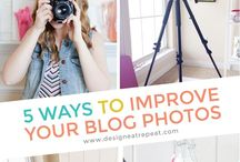 BLOG ♥ PHOTOGRAPHY / Learn to take better blog photos, create graphics, and just general photo inspiration