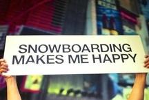 Snowboarding / by Trevor Vichas