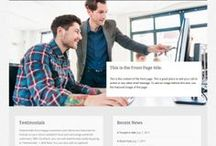 Wordpress Free Themes / Free themes for the free Wordpress.com websites and blogs for small business, not for profit organisations and education groups