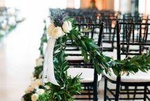 Wedding Inspiration / Farm Wedding Inspiration | McFadden Farm Fresh Garlands and Wreaths for Weddings