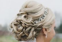 Bridal / Hairstyles and makeup that fit every type of bride!
