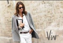 Viviana Volpicella / Great style ! Always smiling ! So Italian ! / by Emma Julien