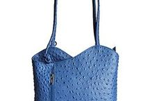 Multi-Way Italian Leather Shoulder Bags / Ladies multi-way Italian leather shoulder bags which conveniently convert into a backpack! Now available at a special rate